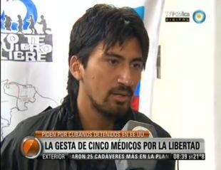 CINCO MÉDICOS RECORREN LATINOAMÉRICA PIDIENDO LA LIBERTAD DE LOS CINCO HÉROES CUBANOS