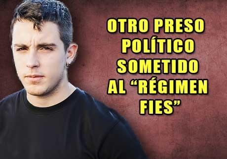 """NI MANUELA CARMENA, NI SU EQUIPO DE BURGUESES DE LA IZQUIERDA LIGHT, NI EL PODEMOS Y SUS MARCAS BLANCAS Y AMARILLAS, HAN DENUNCIADO EL MALTRATO CARCELARIO QUE SUFRE EL PRESO POLÍTICO ESPAÑOL ALFONSO FERNÁNDEZ, """"ALFON""""."""