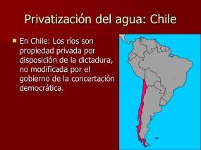 Resultado de imagen para privatizacion del chile